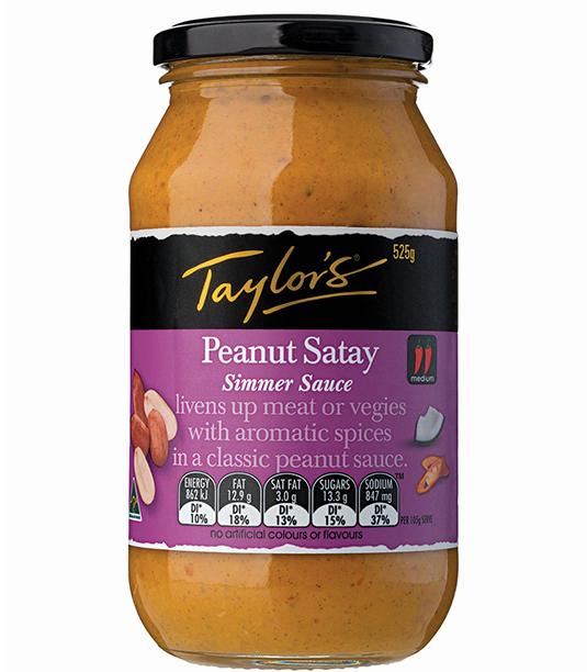 Peanut Satay Simmer Sauce