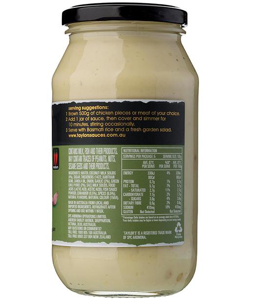 Thai Green Curry Simmer Sauce